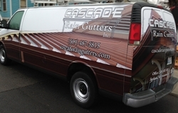 Cascade full vehicle wrap